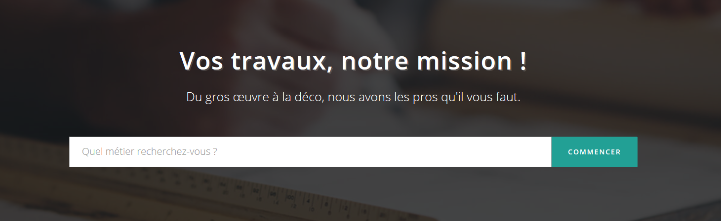 Tafsquare - interface du site